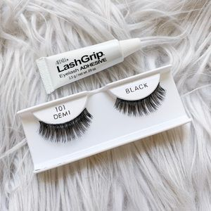 ⭐️5/$25 | NEW Ardell Black Lashes + Lash Glue Duo